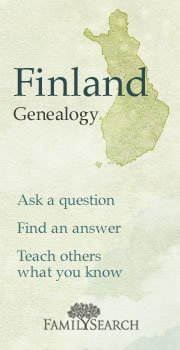 Finland GRC Finland Genealogy Research Council assistance was requested by an admin & was provided by GermanGenealogist.com, et al.