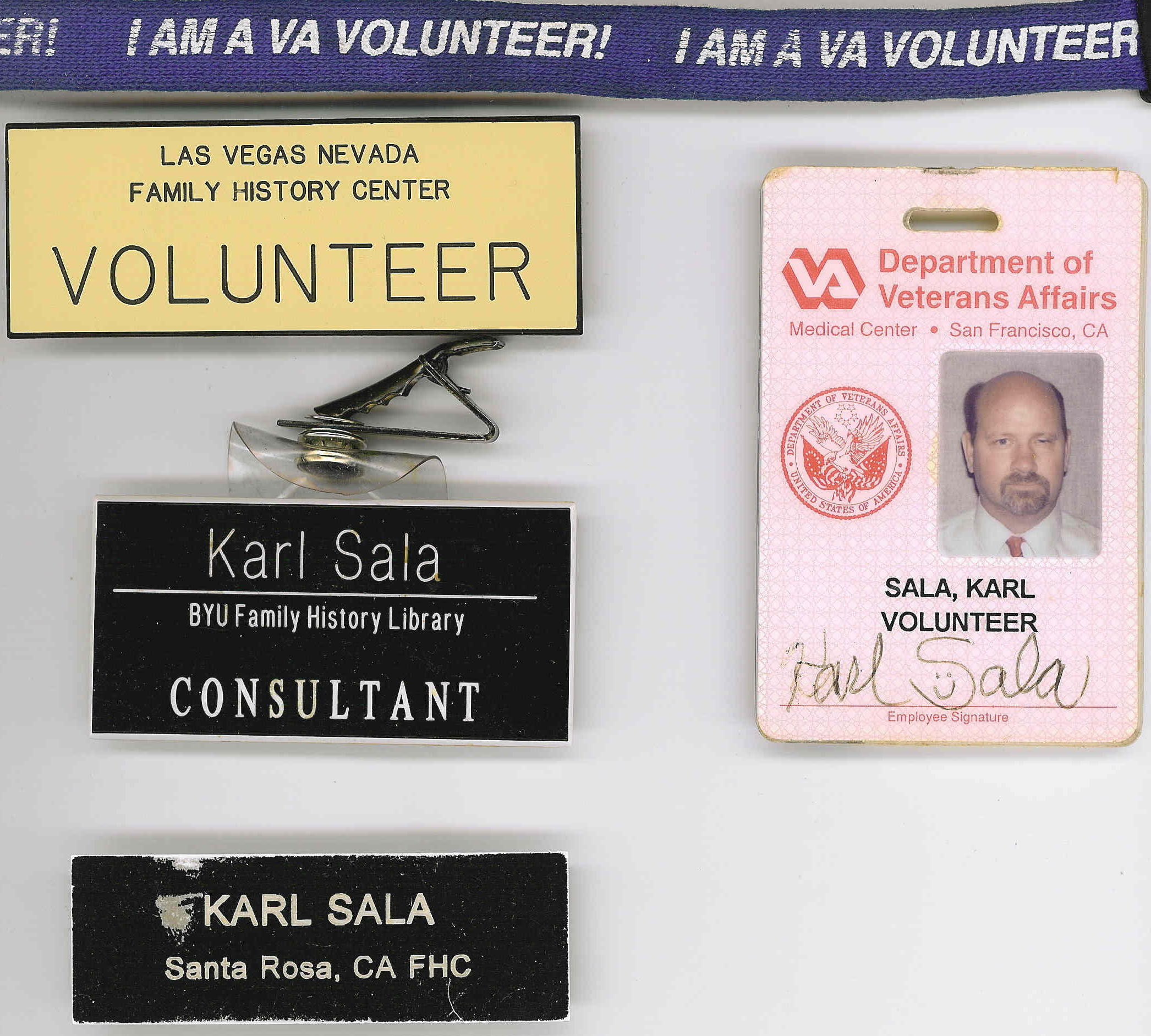 All Volunteer Badges