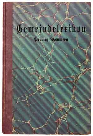 Pommern gazetteer The kloning of Karl Michael Sala?