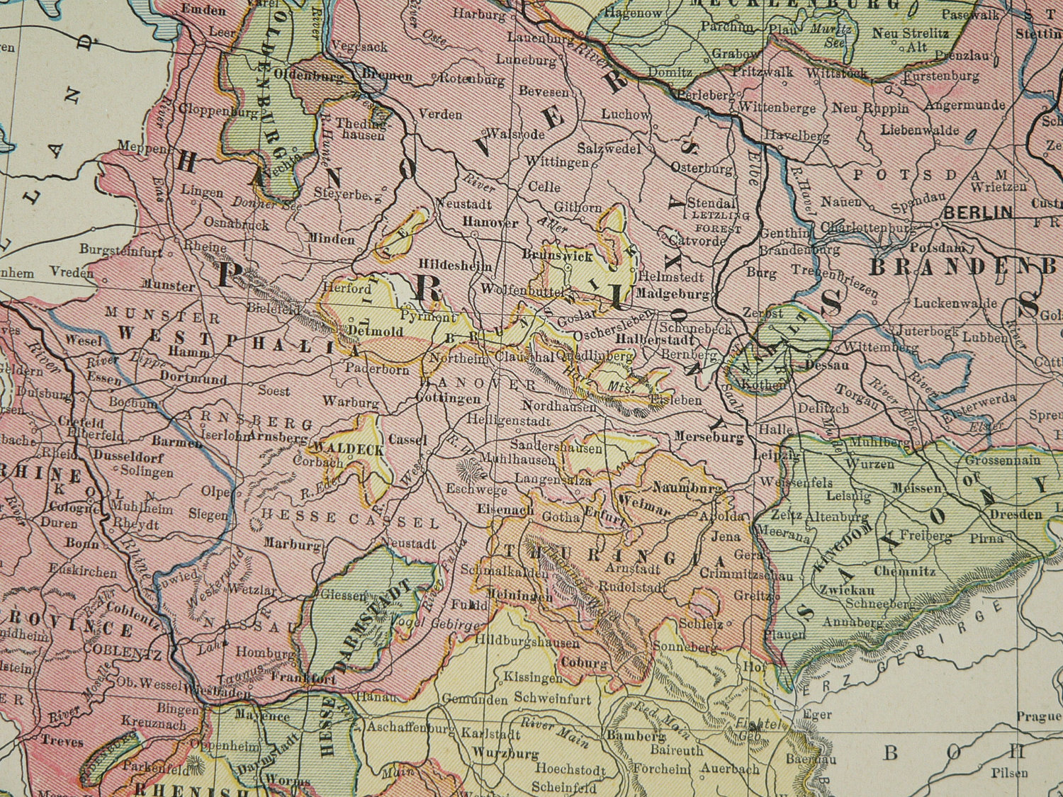 1887 Hannover to Darmstadt