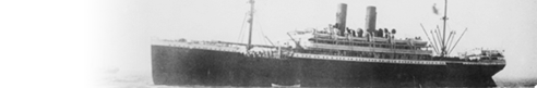 Hamburg Passenger LIsts 1850-1934 SS banner
