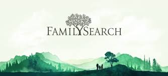 FamilySearch logo w family silhouette
